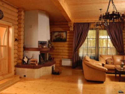Возможности внутренней отделки домов сибирской лиственницей